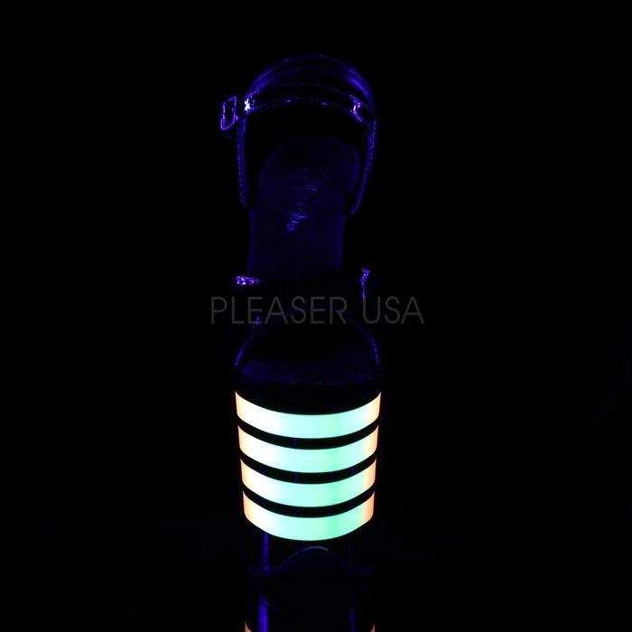 Pleaser FLAM809UVLN/B/B-UVLN