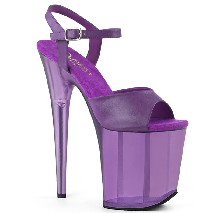 Pleaser FLAM809T/PPPU/M